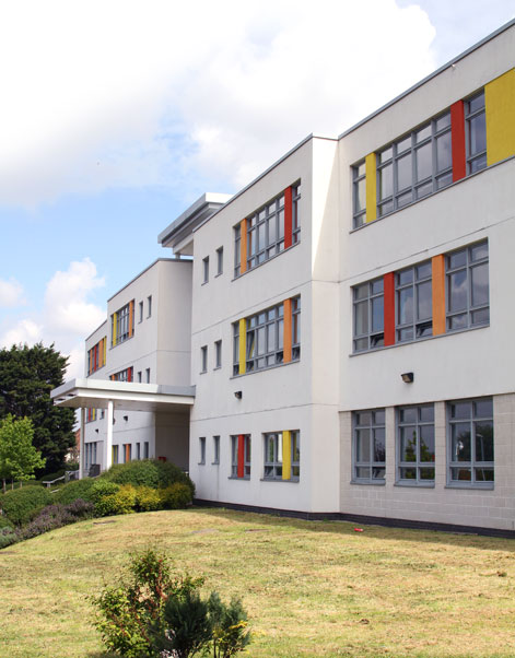 Conisborough College, Lewisham - Exterior Front