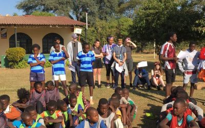 Tag Rugby in Zambia