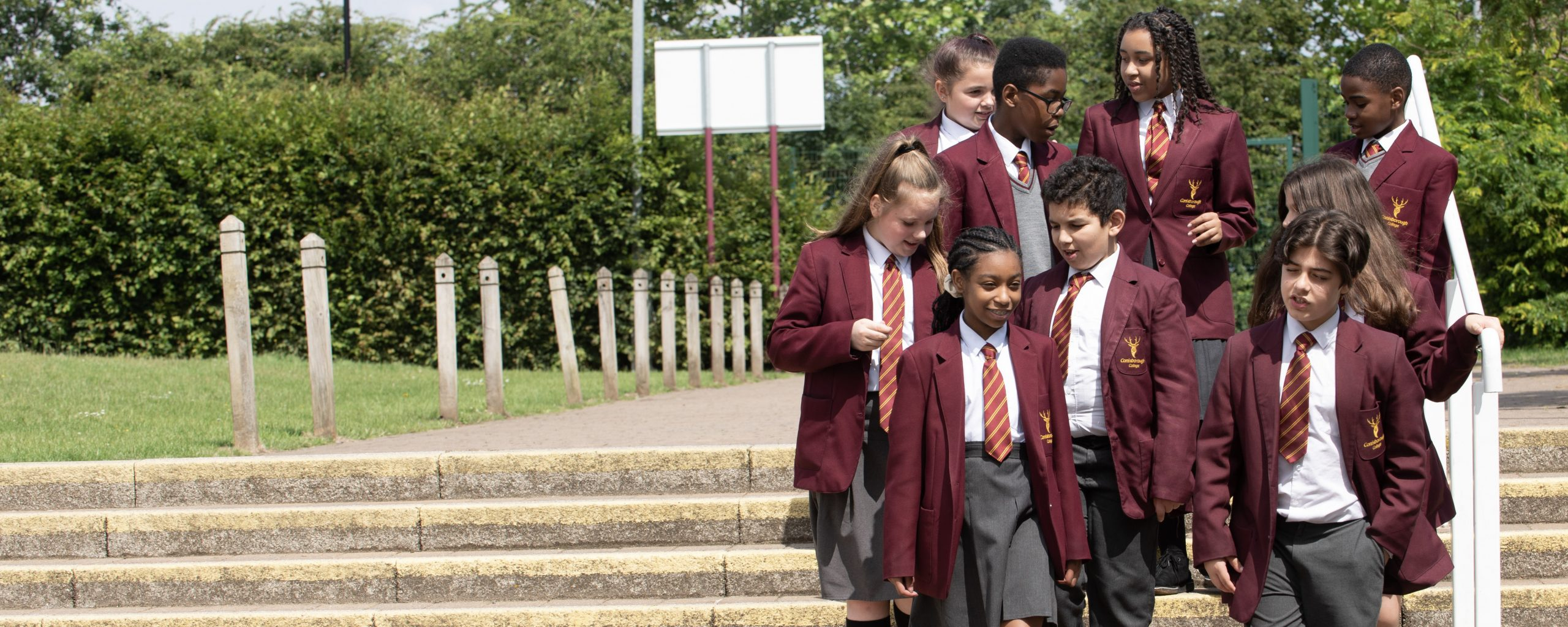 Conisborough College Students Outdoors Lewisham